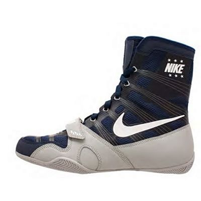 Nike HyperKO Boxing Shoes Mörkblå-Vit