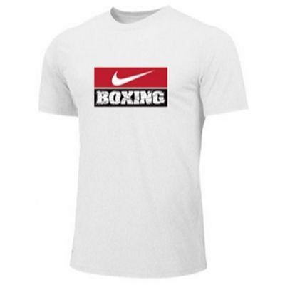 Nike Mens Training Tee 100-BX03 Bianco