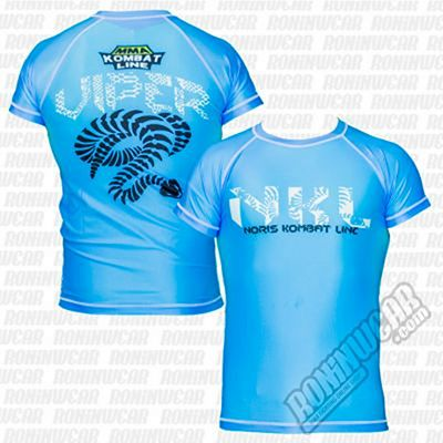 NKL MMA Viper Rashguard Azul