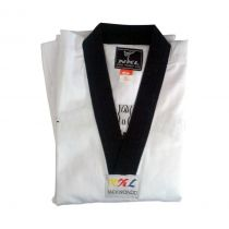 NKL Training Dobok Black Collar Blanco