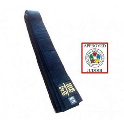 Noris Sfjam Approved IJF Judo Belt Fekete