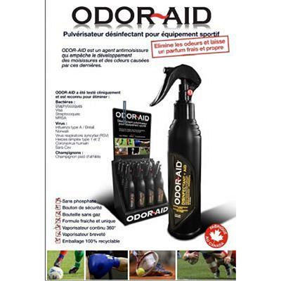 Odor Aid Sports Equipment Deodorizer Auto Spray