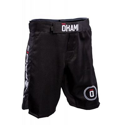 Okami Competition Fightshorts Musta