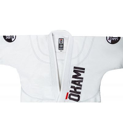 Okami Competition Team Training BJJ Gi Branco
