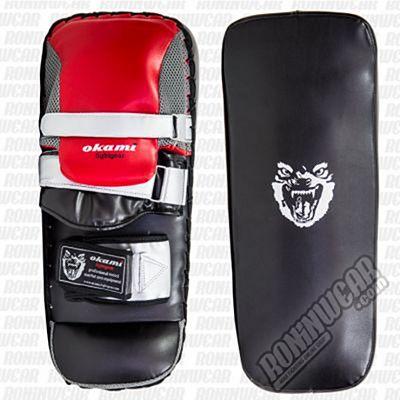 Okami Elite Thai Pads Negro-Rojo