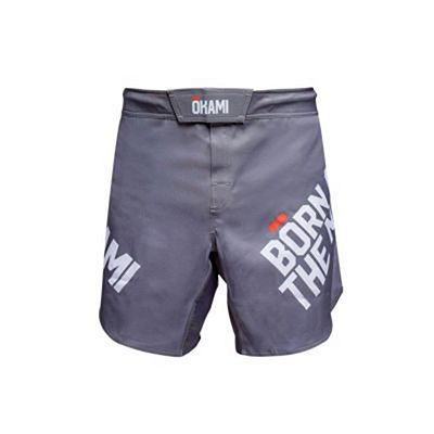 Okami Fight Shorts Motion Grey
