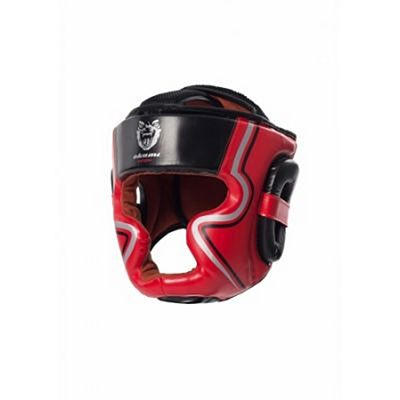 Okami Impact Head Protection 2.0 Negro-Rojo