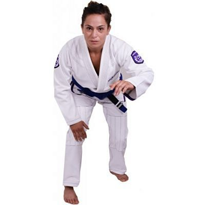 Okami Ladies BJJ Gi Shield White-Purple
