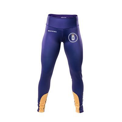 Okami Ladies Competition Spats 1 Purple-Yellow
