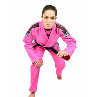Okami Women BJJ Gi Warrior Rosa
