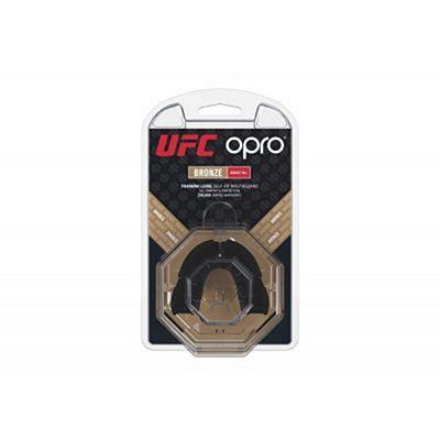 OPRO Self-fit UFC Bronze Mouthguard Black