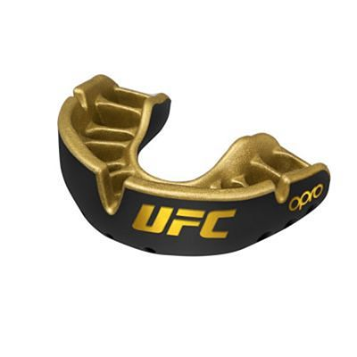 OPRO Self-fit UFC Gold Mouthguard Preto-Dourado