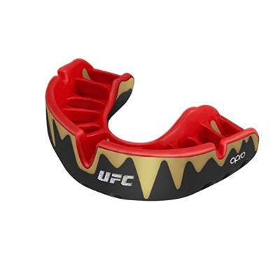 OPRO Self-fit UFC Platinum Fangz Mouthguard Preto