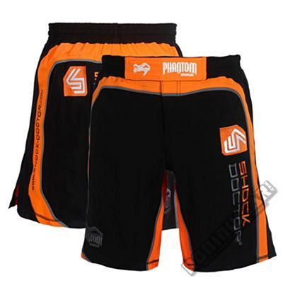 Phantom Cooperation Shock Doctor Training Shorts Orange