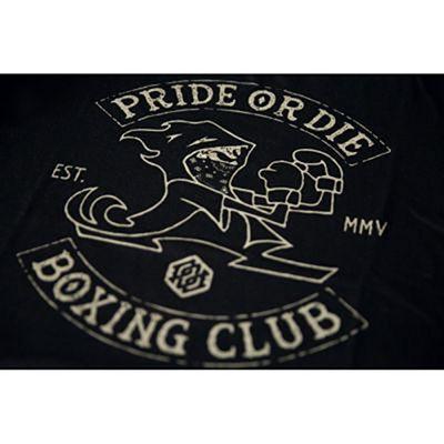 Pride Or Die Boxing Club T-shirt Nero
