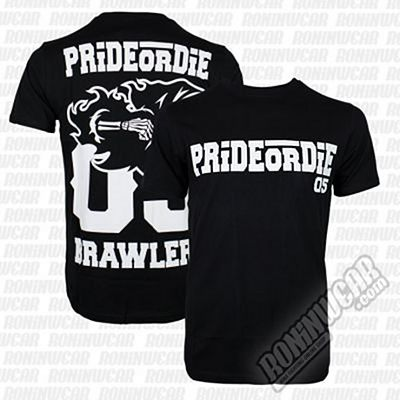Pride Or Die Brawlerz Tee Nero