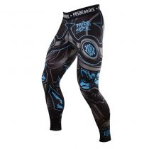 Pride Or Die Compression Pants Ronin Negro-Azul