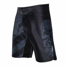 Pride Or Die Fightshorts Reckless Paisley Schwarz-Grau