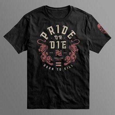 Pride Or Die Herren T-Shirt Lumpini Black