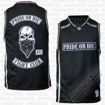 Pride Or Die Jersey Fight Club Negro