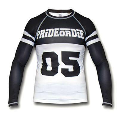 Pride Or Die Rashguard Brawlerz Negro-Blanco