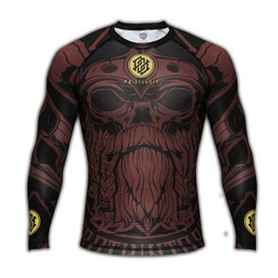 Pride Or Die Rashguard Brotherhood Preto-Marrom