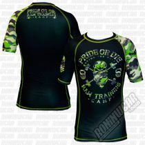 Pride Or Die Rashguard Raw Training Camp Schwarz