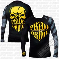 Pride Or Die Rashguard Reckless LS Schwarz