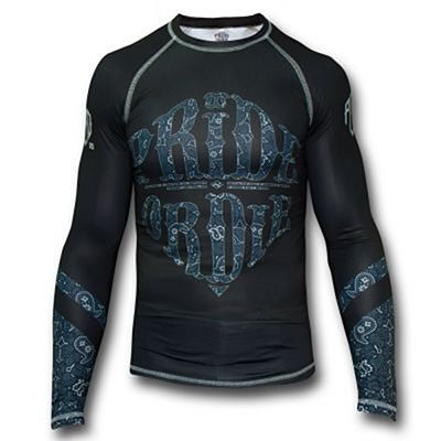 Pride Or Die Rashguard Reckless Paisley Fekete