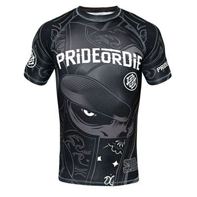 Pride Or Die Rashguard Stand Strong Fekete