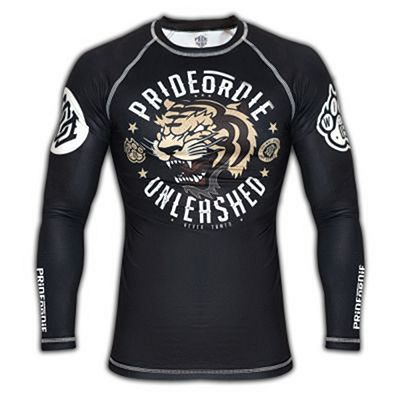 Pride Or Die Rashguard Unleashed Preto