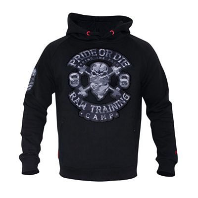Pride Or Die Raw Training Camp Urban Hoodie Negro