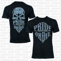 Pride Or Die Reckless Paisley T-shirt Schwarz