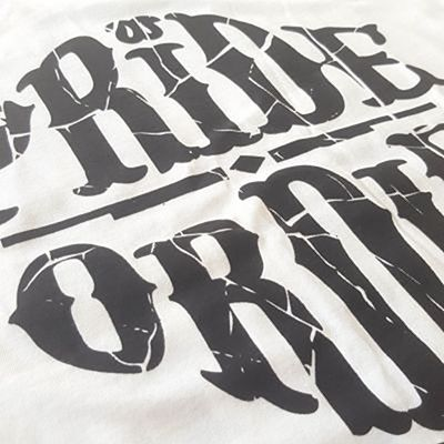 Pride Or Die Tee Reckless Shatered White