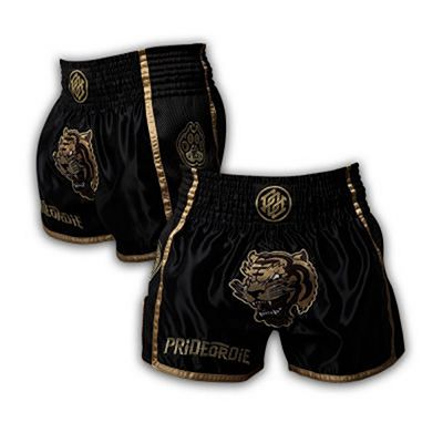 Pride Or Die Unleashed Muay Thai Shorts Black