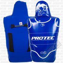 Protec Europe Big-Headed Shield Kids Blau