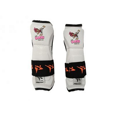 Protec Europe Kids Elbow & Forearm Protectors TDK White