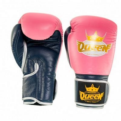 Queen Pro 3 Boxing Gloves Pink-Black