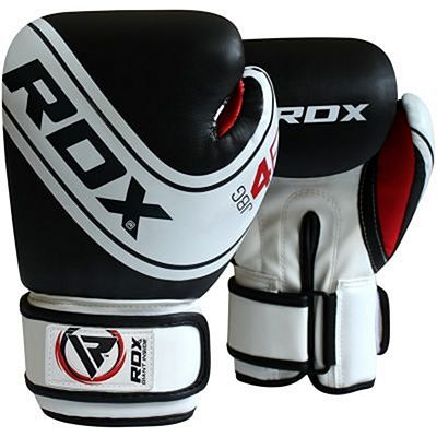 RDX 4B Robo Boxing Gloves Preto-Branco