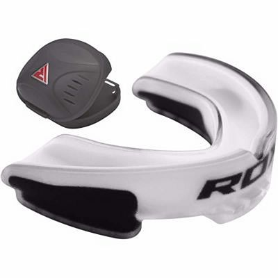 RDX Air Gel Gum Shield Mouthguard Branco-Preto