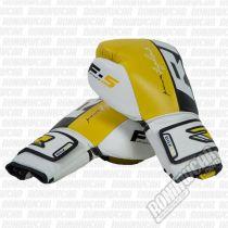 RDX Guantes Boxeo BGL-F5 Fekete-Sárga