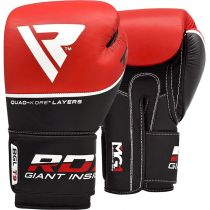 RDX Boxing Gloves T9 Red
