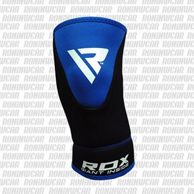 RDX Neoprene Knee Support Brace Guard Schwarz-Blau-Weiß