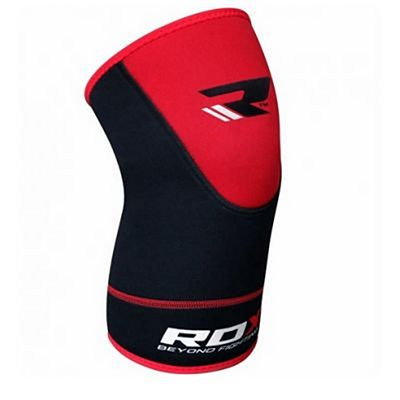 RDX Neoprene Knee Support Brace Guard Schwarz-Rot