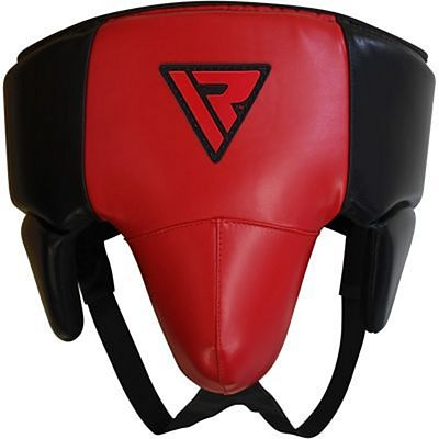 RDX No Foul Groin Guard Abdo Protector Red-Black