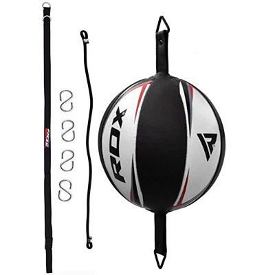RDX R3 Leather Double End Dodge Speed Ball Preto-Branco