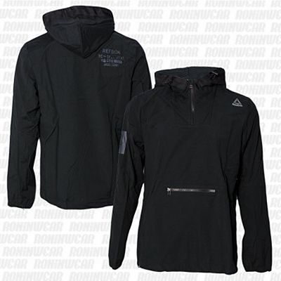 Reebok Combat Lightweight Jacket Black