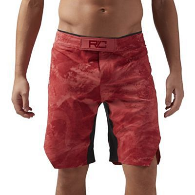 Reebok Combat Prime MMA Shorts Red-Black