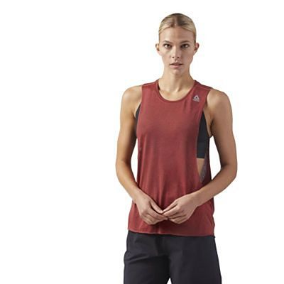 Reebok Combat Spraydye Tank Top Red