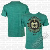 Reebok Conor McGregor Notorious Celtic Badge Tee Verde
